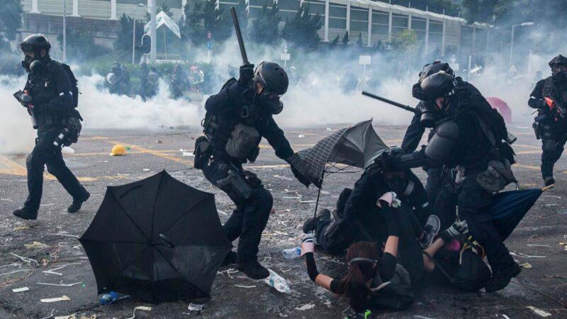 Hong Kong China Politics Unrest Crime
